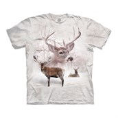Wintertime Deer t-shirt