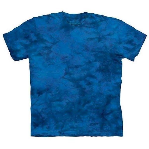 Blue Ray Mottled Dye t-shirt, Adult Small