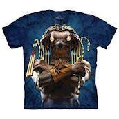 T-shirt fra The Mountain - bluse med Horus-motiv