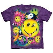 The Mountain t-shirt - bluse med smileys