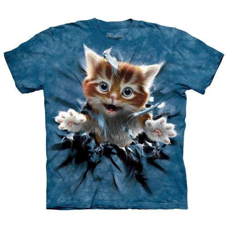 Ginger Kitten Breakthrough t shirt