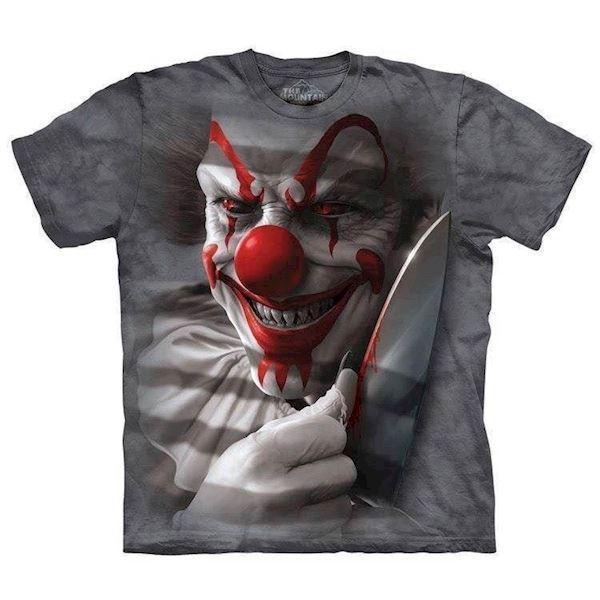 Clown Cut t-shirt, Adult Small