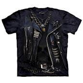 T-shirt fra The Mountain - bluse med illusion