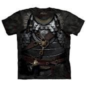 T-shirt fra The Mountain - bluse med rustnings-motiv