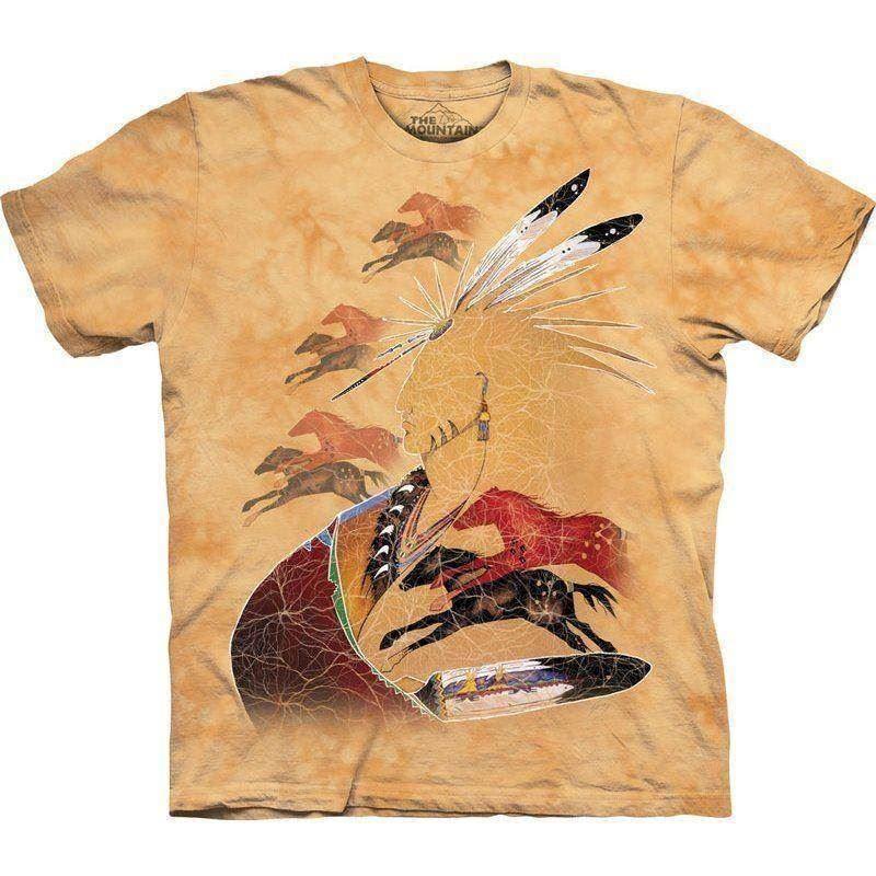 Indianer Med Heste Syn En T Shirt Fra The Mountain