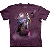The Mountain: T-shirt - bluse med fantasy-tryk