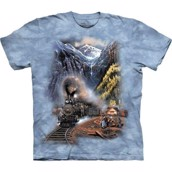 The Mountain tshirt - bluse med motivtryk