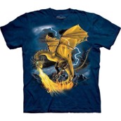 T-shirt fra The Mountain - bluse med dragetryk