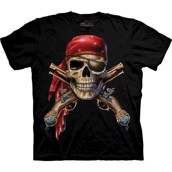T-shirt fra The Mountain - bluse med pirattryk