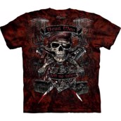 The Mountain t-shirt - bluse med pirattryk