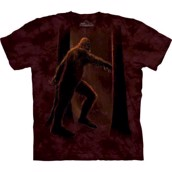 The Mountain tshirt - bluse med monstertryk