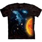 The Mountain-t-shirt - bluse med astronomi-tryk