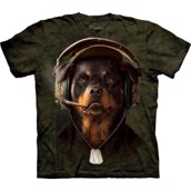T-shirt fra The Mountain - bluse med dobermann