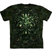 The Mountain tshirt - bluse med bladgrønt