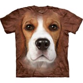 T-shirt fra The Mountain - bluse med beagle