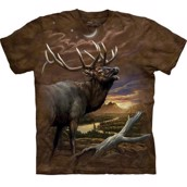The Mountain tshirt - bluse med dyretryk