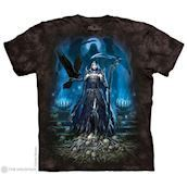 The Mountain tshirt - bluse med skellet dronning