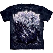 T-shirt fra The Mountain - bluse med engle