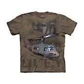 T-shirt fra The Mountain - bluse med helikopter-motiv