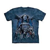 T-shirt fra The Mountain - bluse med fly-motiv