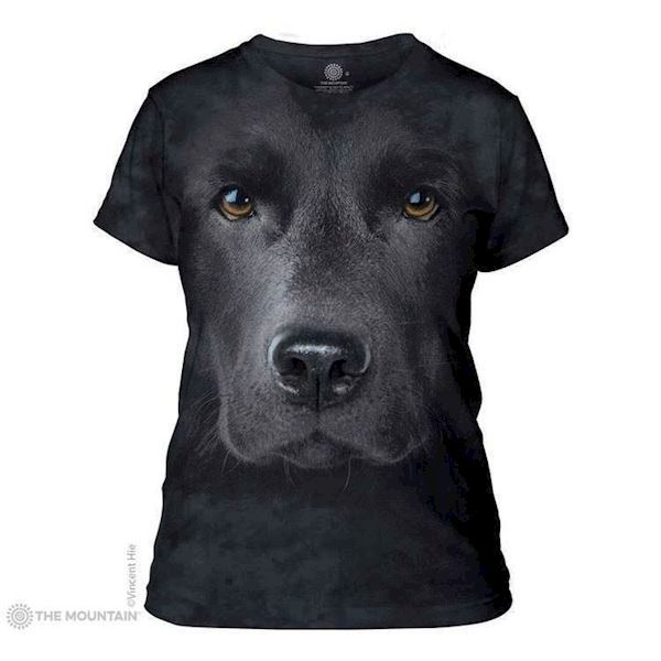 The Mountain ladies tees med sort labrador