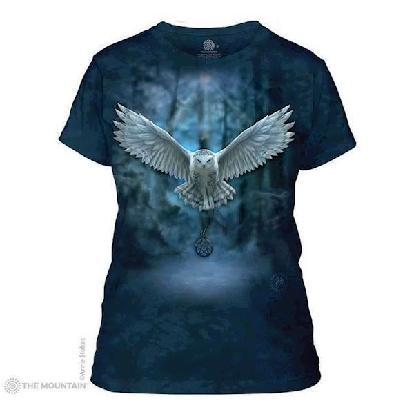 The Mountain ladies tees med hvid ugle