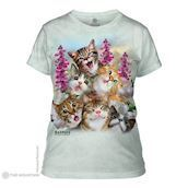The Mountain ladies tees med Kittens Selfie