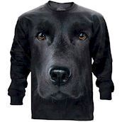 The Mountain unisex sweatshirt - Sort labrador