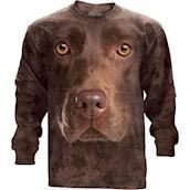The Mountain unisex sweatshirt - Brun labrador