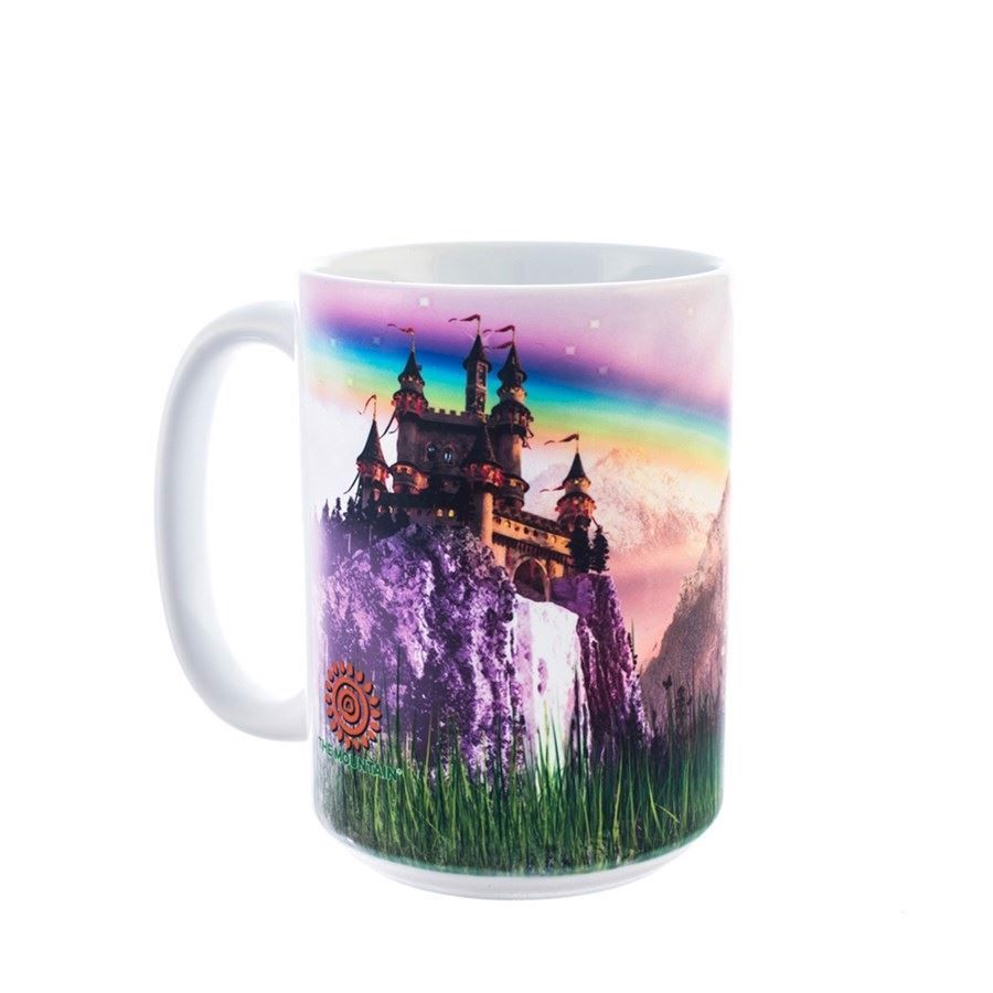 Unicorn Castle Ceramic mug