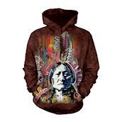 The Mountain Hoodie med Sitting Bull