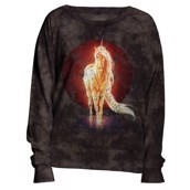 The Mountain womens sweatshirt med unicorn