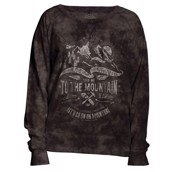 The Mountain womens sweatshirt med natur og bjerge