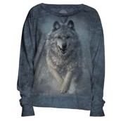 The Mountain womens sweatshirt