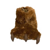 Zooshirts sutsko Brown Bear Paw Slipper