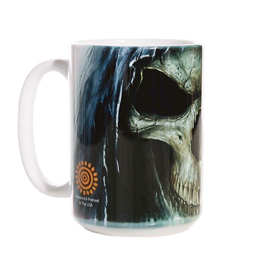 Big Face Death Ceramic mug