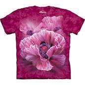 The Mountain tshirt - bluse med blomster-tryk