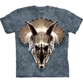 The Mountain tshirt - bluse med dinusaur fossil