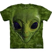 T-shirt fra The Mountain - bluse med alien