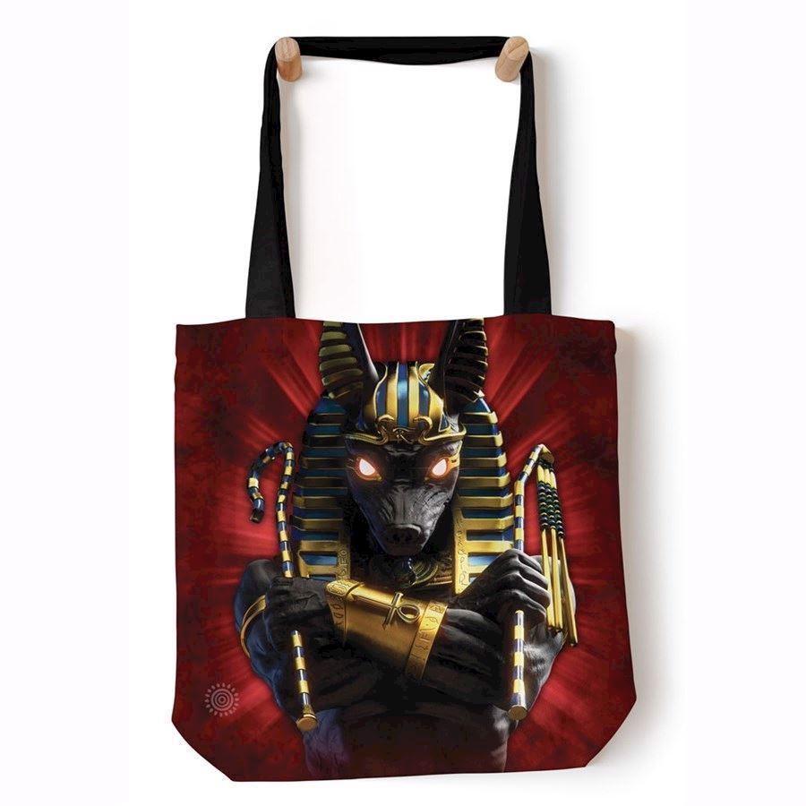 Anubis Soldier Tote Bag