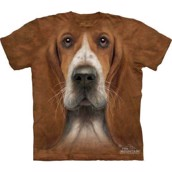 T-shirt fra The Mountain - bluse med basset-motiv