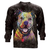 The Mountain unisex sweatshirt - pitbull