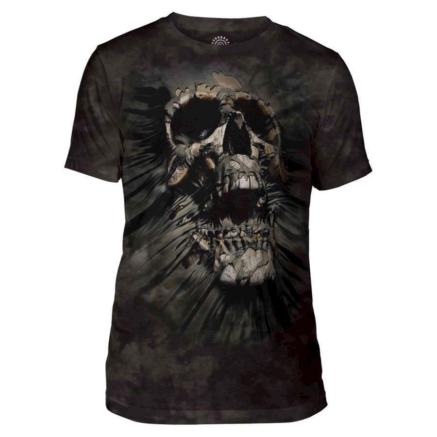 The Mountain Breakthrough Skull Triblend Tee