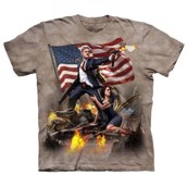 T-shirt fra The Mountain - Clinton Erobreren