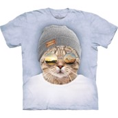 T-shirt fra The Mountain - bluse med kattemotiv