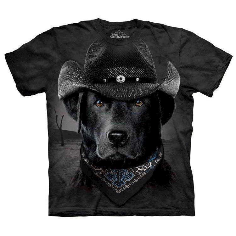 T-shirt fra The Mountain - bluse med labrador