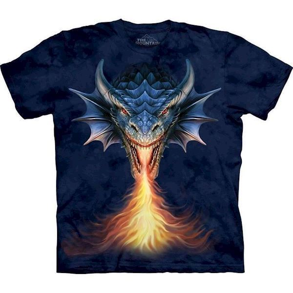 Fire Breather Dragon t-shirt, Child Small