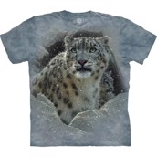 The Mountain tshirt - bluse med leopardmotiv