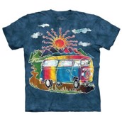 T-shirt fra The Mountain - bluse med hippie-motiv