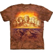 T-shirt fra The Mountain - bluse med indianer-motiv